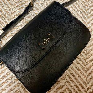 Kate Spade leather black crossbody